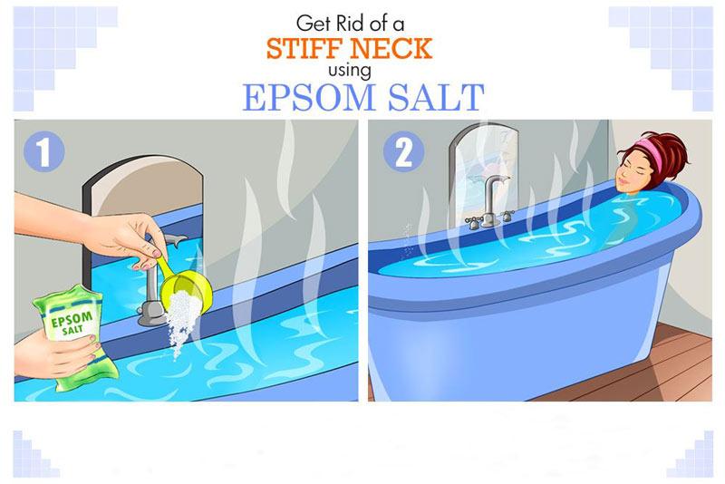 طریقه استفاده از حمام نمک اپسوم