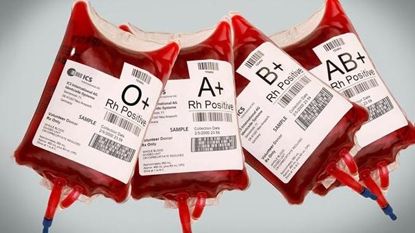 گروه های خونی رایج